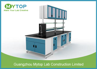 Steel Structure Lab Tables And Furnitures , Educational Science Lab Workstations