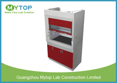 Metal Laboratory Fume Hood Laboratory Equipment , Ducted Fume Cupboard